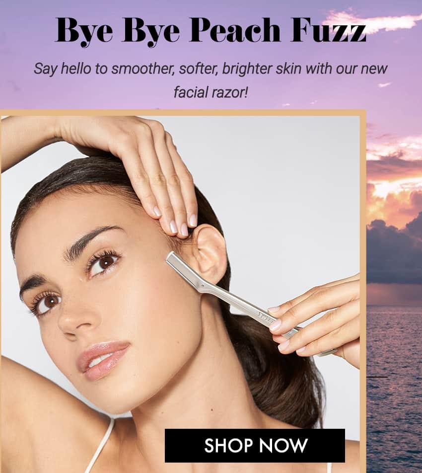 Shop our new Facial Razor!