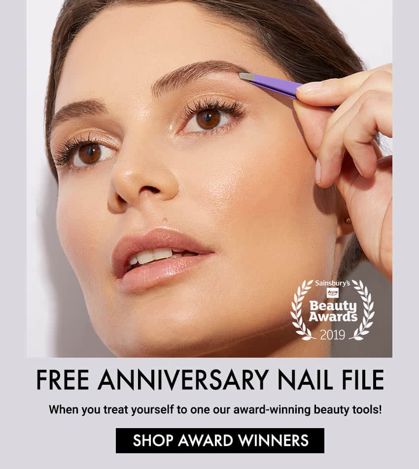 Purchase a Tweezerman Award-winning Tweezer and Recieve a Free Nail File