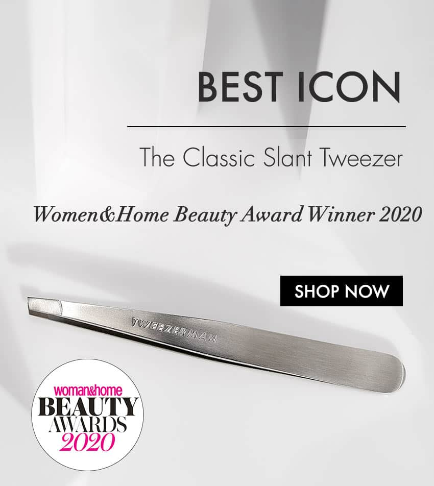 Classic Slant Tweezer - shop all Tweezerman award winneing beauty tools